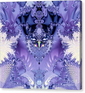 The Purple Heart Canvas Print by Maria Urso