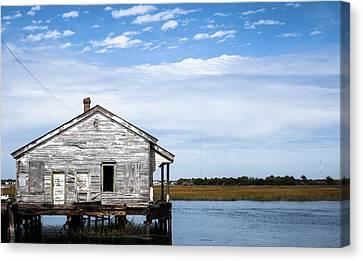The Quarter Master House On Sullivan's Island Canvas Print by Alyssa Dungo