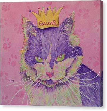 The Queen Canvas Print by Rhonda Leonard