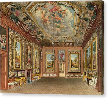 The Queens Drawing Room, Windsor Canvas Print