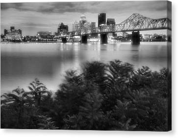The Quiet City Canvas Print by Steven Ainsworth