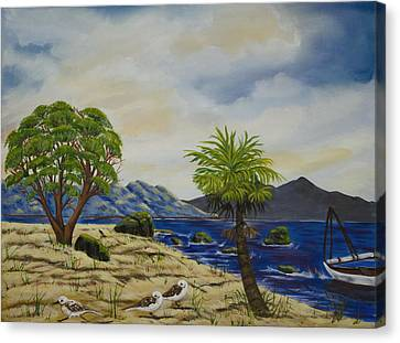 The Quiet Harbor Canvas Print by Susan Culver