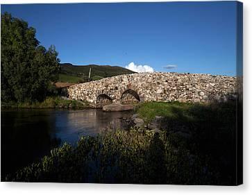 The Quiet Man Bridge Near Oughterard Canvas Print