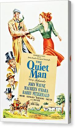 The Quiet Man, Top From Left John Canvas Print
