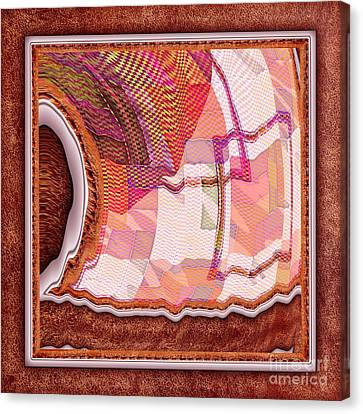 The Quilt Canvas Print by Liane Wright