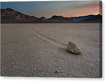 The Racetrack At Death Valley National Park Canvas Print