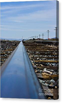 The Railway Canvas Print by Scott Laffin