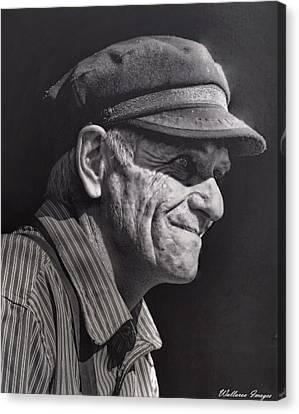 The Railwayman Canvas Print by Wallaroo Images