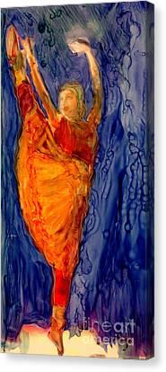 The Rain Dance Canvas Print by FeatherStone Studio Julie A Miller