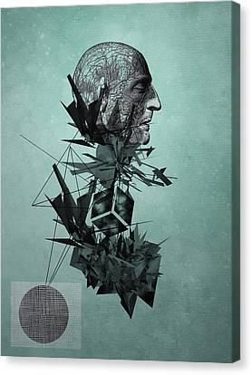 The Raindrops Canvas Print by PandaGunda