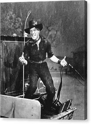 1956 Movies Canvas Print - The Rainmaker, Burt Lancaster, 1956 by Everett