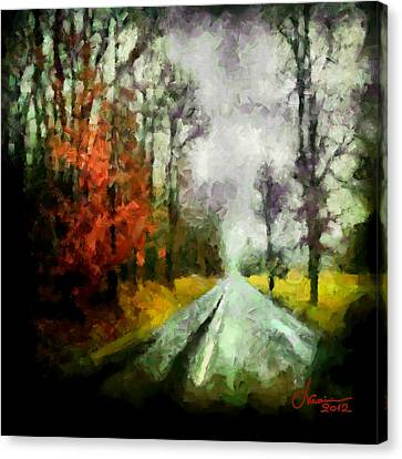 The Rainy Days Of Summer Canvas Print by Vincent DiNovici