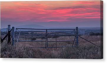 The Ranch Canvas Print by Peter Tellone