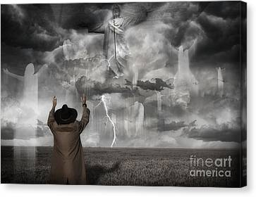 The Rapture II Canvas Print by Keith Kapple