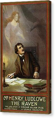 Ghost Story Canvas Print - The Raven, C1908 by Granger