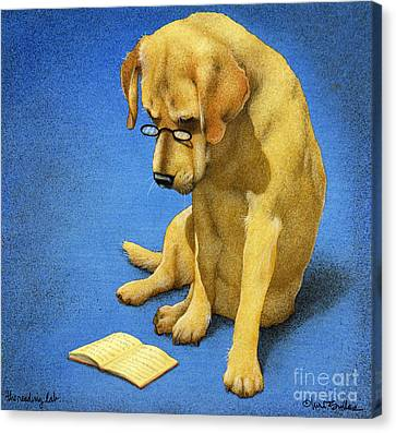 The Reading Lab... Canvas Print
