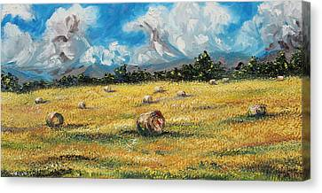 The Reaping Canvas Print by Meaghan Troup