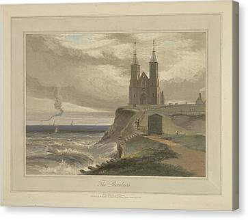 Seacoast Canvas Print - The Reculvers by British Library