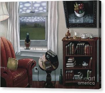 O'keeffe Sky 1997 Canvas Print