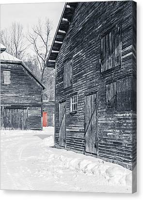 Complex Canvas Print - The Red Door by Edward Fielding