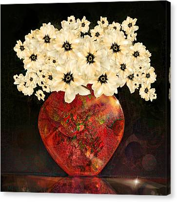 The Red Vase Canvas Print
