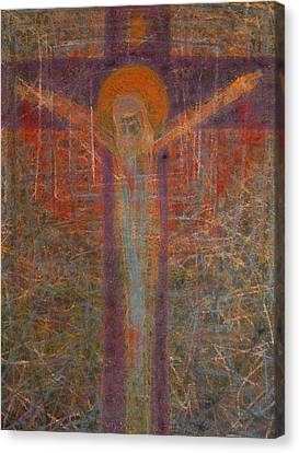 The Redeemer Canvas Print by Adel Nemeth