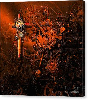 The Redemption Of The Technical And Digital World Canvas Print by Franziskus Pfleghart