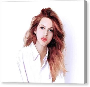 The Redhead Canvas Print by GCannon