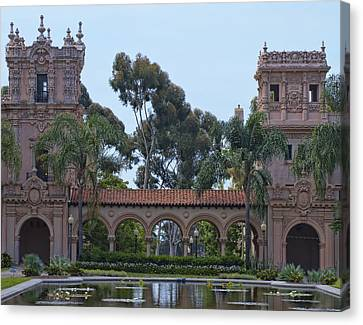 The Reflection Pool Canvas Print