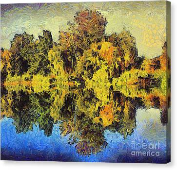 The Reflections Canvas Print by Odon Czintos