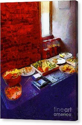The Remains Of The Feast Canvas Print by RC deWinter