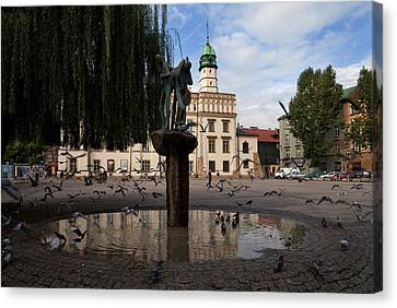 The Renaissance Town Hall And Central Canvas Print by Panoramic Images