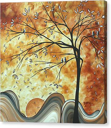 The Resting Place By Madart Canvas Print by Megan Duncanson