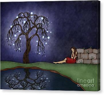 The Resting Place Canvas Print by Glenna Smiesko