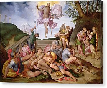 The Resurrection Of Christ, Florentine School, 1560 Canvas Print by Italian School