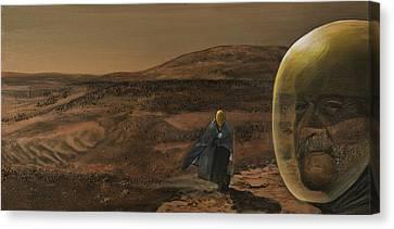 The Return Canvas Print by Simon Kregar