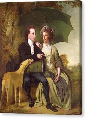 The Rev. And Mrs. Thomas Gisborne, Of Yoxhall Lodge Canvas Print