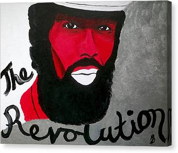 The Revolution Canvas Print by Janeen Stone Morehead