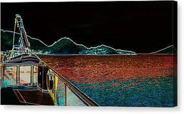 The Rhib Canvas Print by Travis Crockart