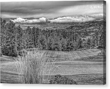 Canvas Print featuring the photograph The Ridge 18th by Ron White