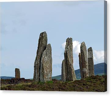 The Ring Of Brodgar Canvas Print by Steve Watson