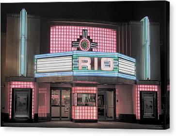 The Rio At Night Canvas Print by Lynn Sprowl