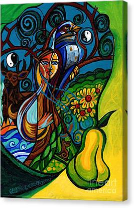 The Rite Of Spring Canvas Print by Genevieve Esson