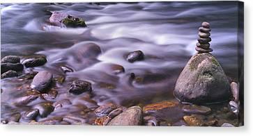 The River Flows Canvas Print
