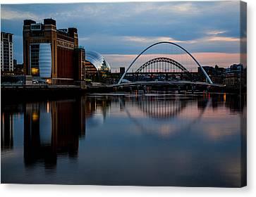The River Tyne Canvas Print