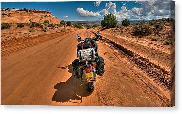 The Road Ahead Canvas Print by Britt Runyon