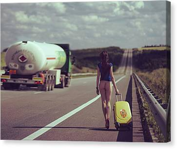 The Road.... Canvas Print