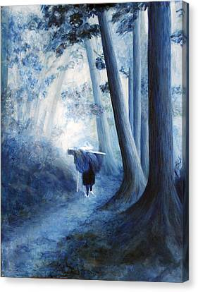 The Road Home Canvas Print by Donna Walsh