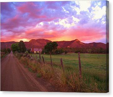 The Road Home Canvas Print by Feva  Fotos