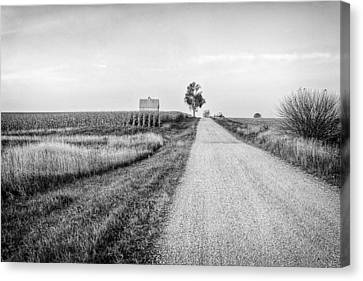 The Road Home Canvas Print by Jeff Burton